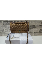Сумка Chanel Classic Flap Bag black gold