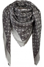 Палантин шелковый Louis Vuitton MONOGRAM DENIM SHAWL